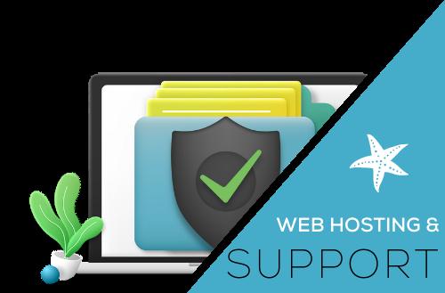 Web Hosting & Support