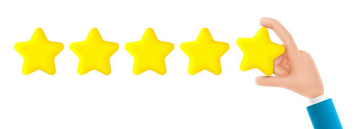 Review Star graphic