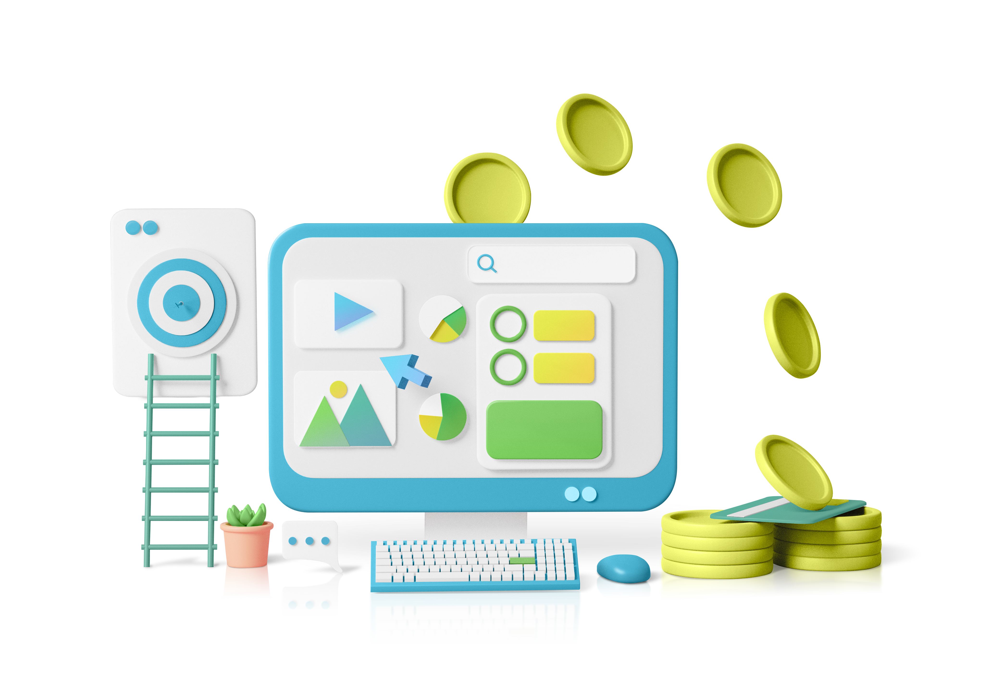 Pay Per Click Advertising Graphic